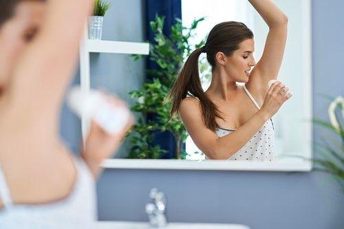 Desodorante o antitranspirante